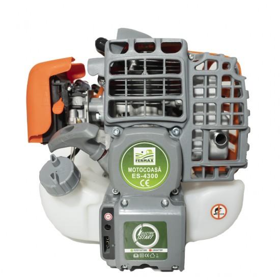 Motocositoare pe benzina cu pornire electrica si manuala FERMAX Profi ES-4300