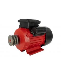 Motor electric monofazat Swat,0.75Kw,1500Rpm,buton pornire, fulie dubla,bobinaj cupru