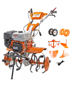 Motosapatoare Ruris 731ACC +roti cauciuc+rarita+plug+adaptor+dispozitiv cartofi + roti metalice+ cultivator