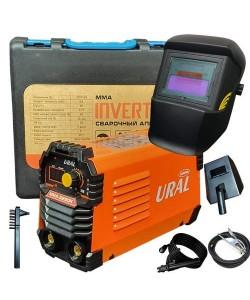 Aparat de sudura ( Invertor ) URAL MMA 325DK, 320Ah+Masca Automata, Accesorii Incluse,Cutie de Transport, Cabluri 3M