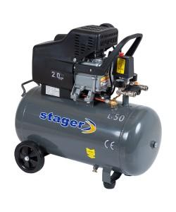 Compresor Stager HM2050B 50L, 200 L/min, 8 bar