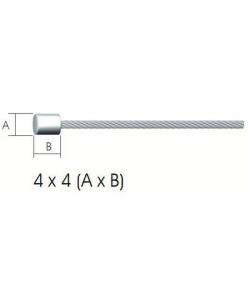 Cablu bicicleta schimbator 2m/1.2mm