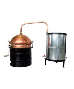 Cazan pentru tuica des, cu amestecator, 30 litri