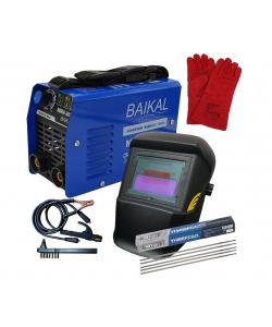 Aparat de sudura Invertor BAIKAL 300 A + Masca de sudura automata + Electrozi + Manusi