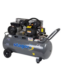Compresor Stager HM-V-0.25/100 100L, 250 L/min, 8 bar