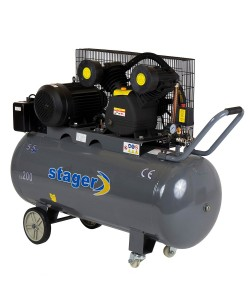 Compresor Stager HM-V-0.6/200 200L, 600 L/min, 8 bar
