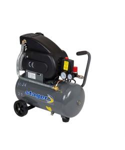Compresor Stager HM2024F 24L, 200 L/min, 8 bar
