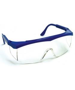 Ochelari de protectie transparent rama albastra (cal 2)