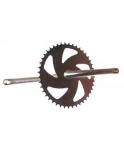 Angrenaj pedalier bicicleta 1 foaie - 12 (89mmx28t)