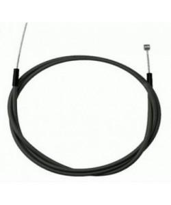 Cablu frana bicileta fata cu camasa - 75cm