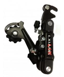 Schimbator pinioane prindere bicicleta ax top black