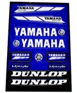 Set stickere scuter yamaha-honda-suzuki