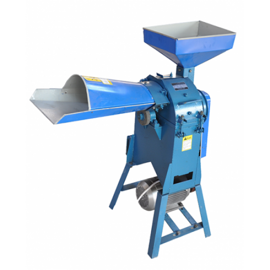 Moara tocat cereale si furaje Ms-30A cu motor, 2200 W, 500 kg/h, 200 kg/h