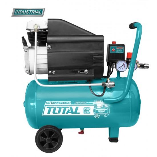 Compresor aer pe ulei - 24L - 8 bar - 1500W