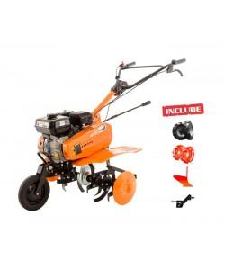 Motosapa Dac 7000ACC2 + roti cauciuc +roti met 300 fara manicot + plug + adaptor
