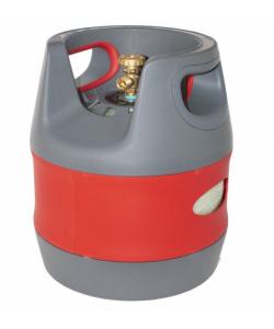 Butelie reincarcabila GPL 12.7L, 3.96 kg, material compozit, regulator presiune