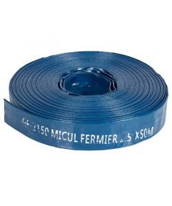 "Furtun apa refulare Flat PVC 1.5"" 50M 2bar"