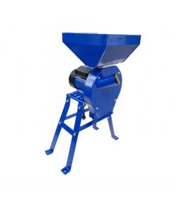 Moara electrica cereale,CUVA MARE,cu suport,Ruseasca,3500 W,3000 rpm,200 Kg/h,BOBINAJ CUPRU, Model 2020