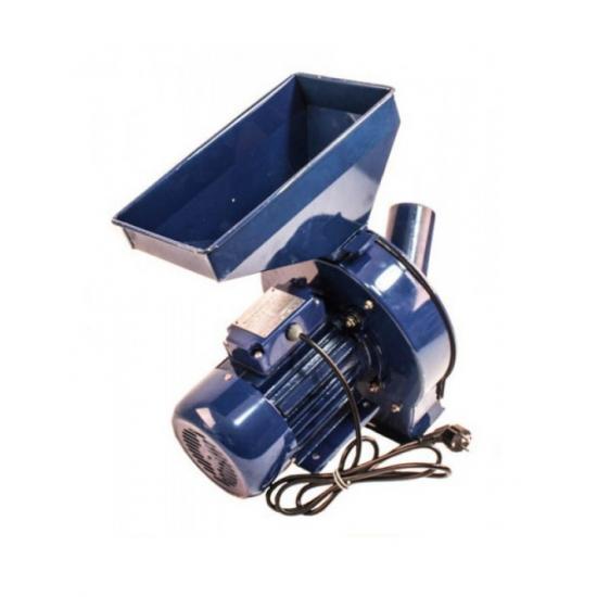Moara electrica de macinat Porumb, grâu, orz, stiulete intreg, uruiala  UralMash, 3500 W, 250 kg/h