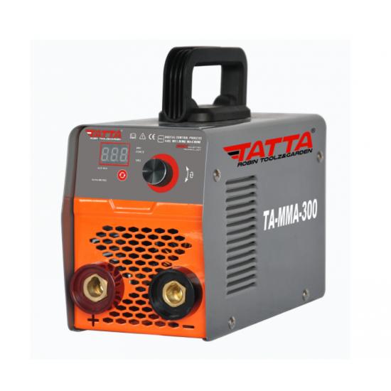 Aparat de sudura smart Tatta TA-MMA-300, autotestare la pornire, putere absorbita 9.5 kVA, eficienta 85%, electrod 1.6-4.0 mm