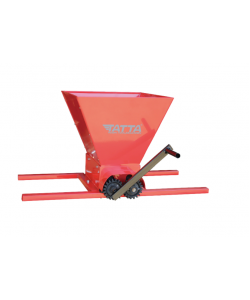 Zdrobitor de struguri Tatta TZ-1802 RS, capacitate maruntire 300 kg/h, cuva 25 l, Fier, Rosu